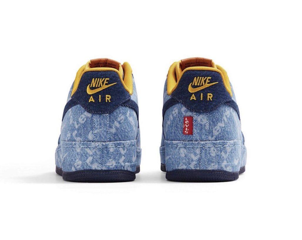 Levi's x Nike Air Force 1 - Фото